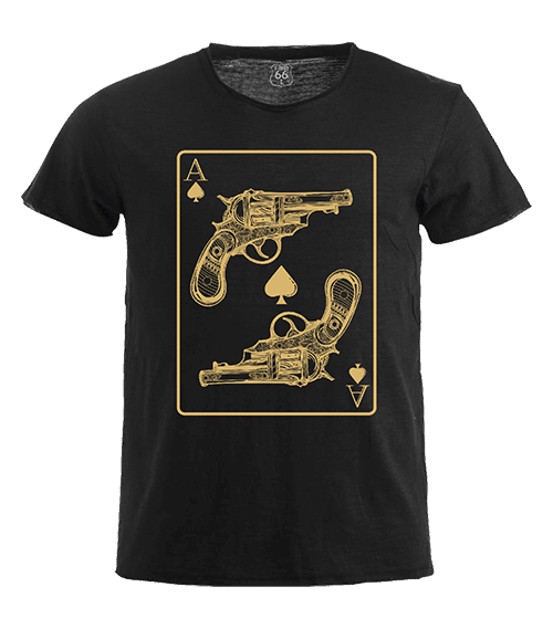 T-Shirt 66 - Ace guns man