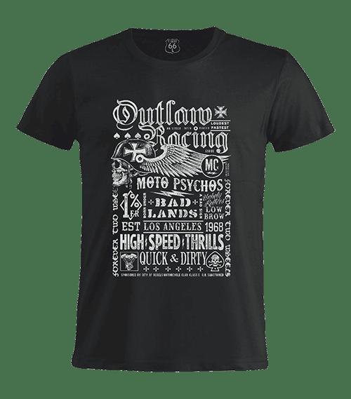 T-Shirt 66 - Moto psychos man