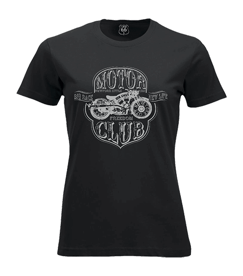 T-Shirt 66 Motor club woman