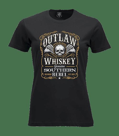 T-Shirt 66 - Southern rebel woman