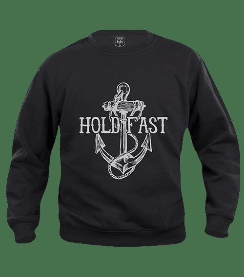 T-Shirt 66 - Felpa hold fast grey