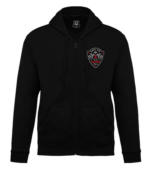 T-Shirt 66 - Felpa race ace black