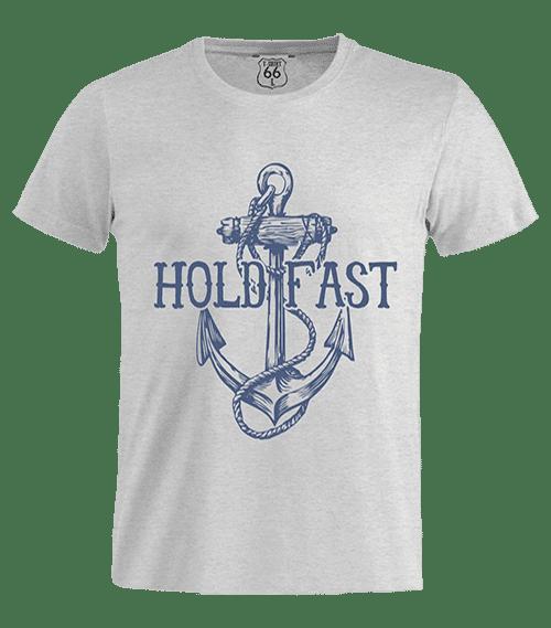 T-Shirt 66 - Hold Fast man grey